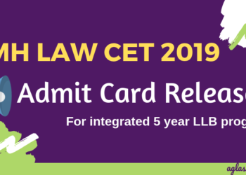 MH Law CET 2019 Admit Card