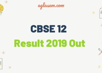 CBSE 12 Result 2019 Out