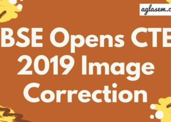 CTET 2019 Image Correction Aglasem