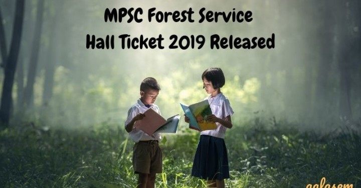 MPSC Forest Service Hall Ticket 2019
