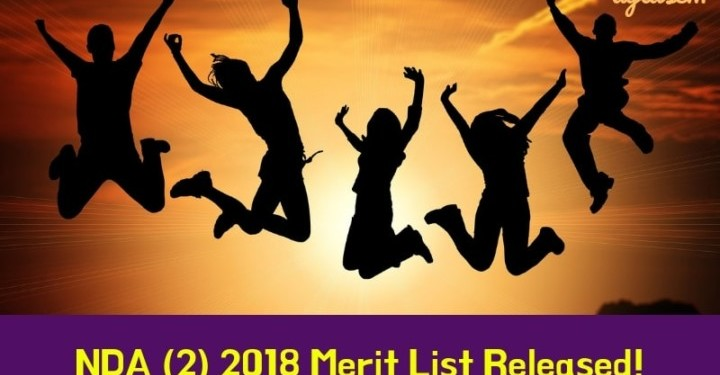 NDA 2 2018 Merit List