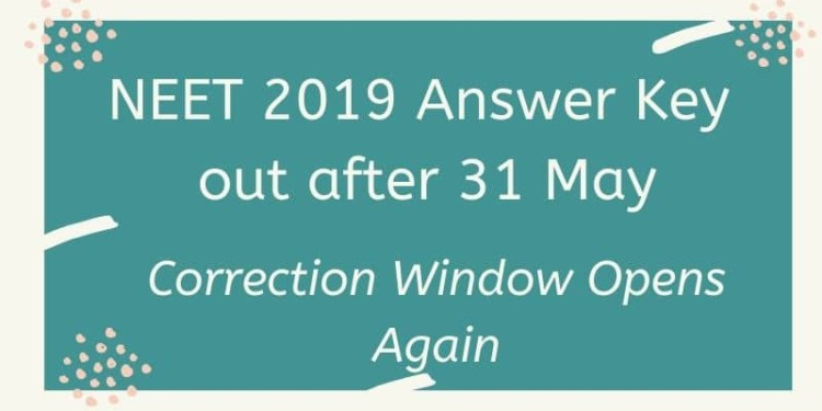 NEET 2019 Answer Key