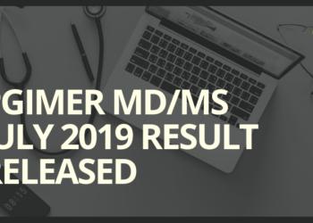 PGIMER-MD-MS-July-2019-Result-Released-Aglasem