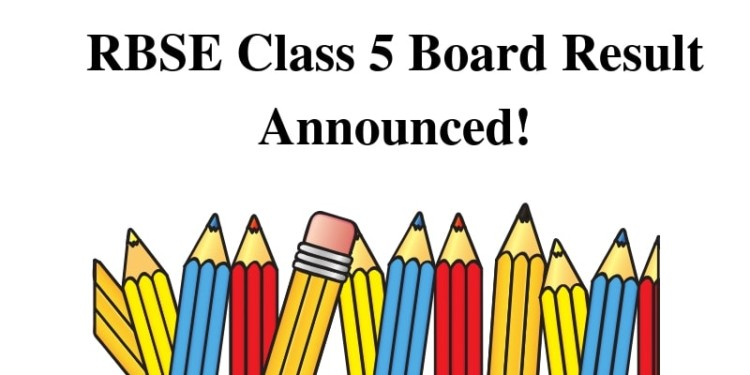 RBSE Class 5 Board Result Announced