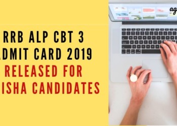 RRB ALP CBT 3 Admit Card 2019 Released for Odisha Candidates Aglasem