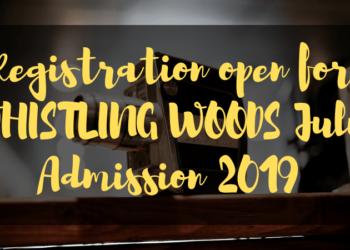 Registration open for WHISTLING WOODS July Admission 2019