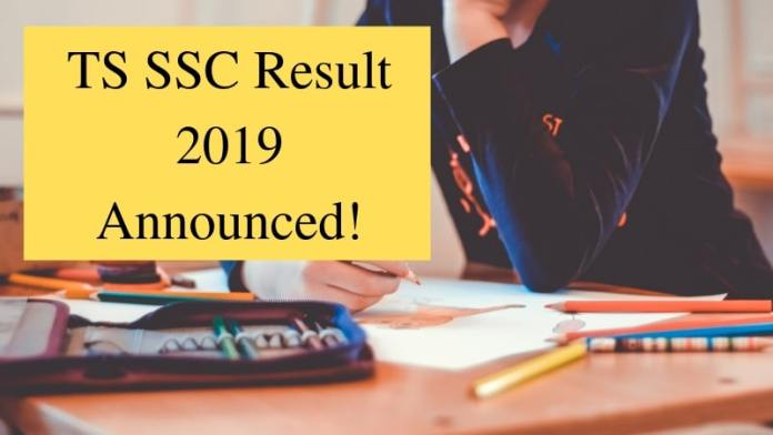 TS SSC Result 2019 Announced!