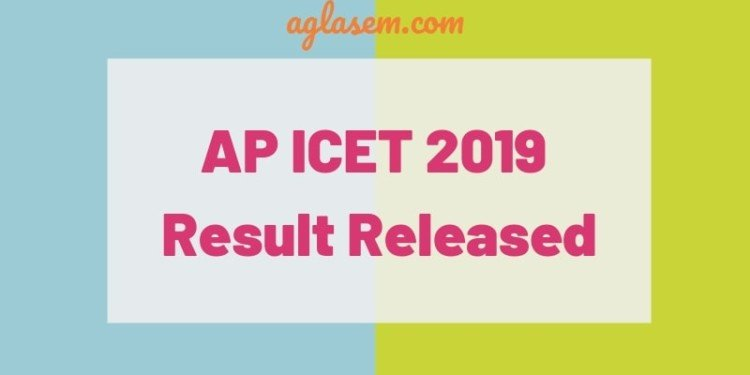 AP ICET 2019 Result Released