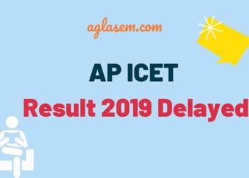 AP ICET Result 2019 Delayed