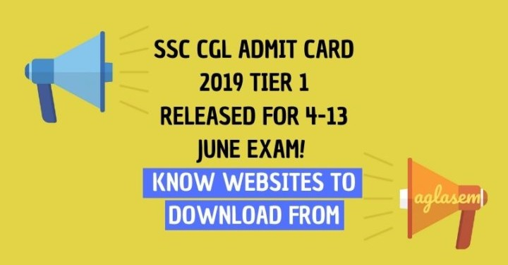 ssc cgl admit card