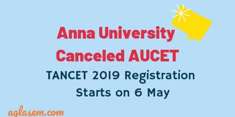 TANCET 2019 Registration Starts on 6 May