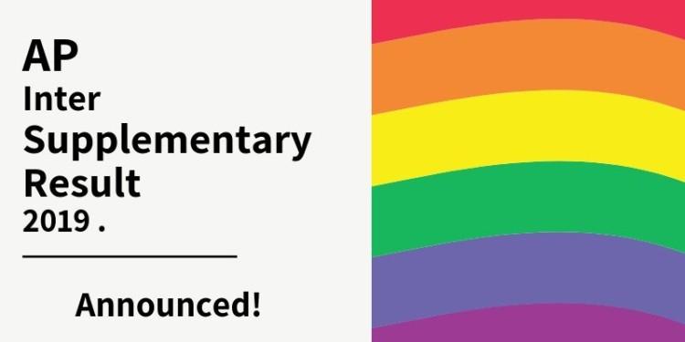 Ap Intermediate Supplementary Result 2019