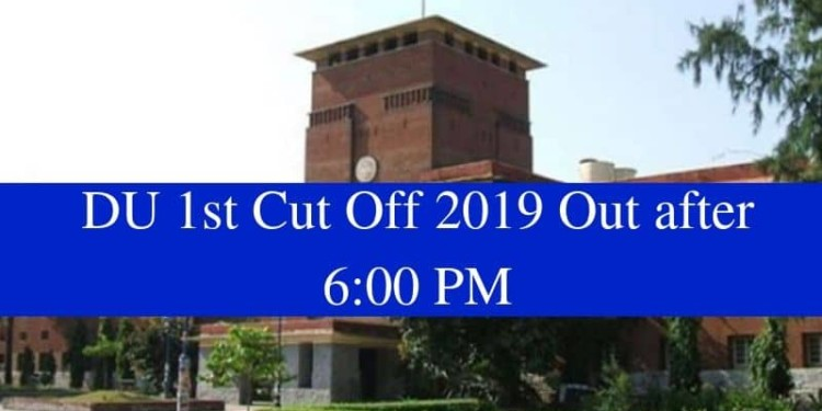 DU 1st Cut Off 2019