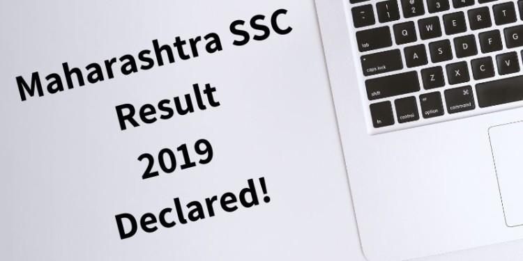 Maharashtra SSC Result 2019 Declared