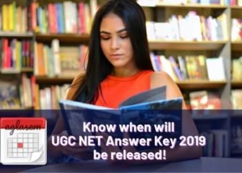 UGC NET Answer Key 2019 date