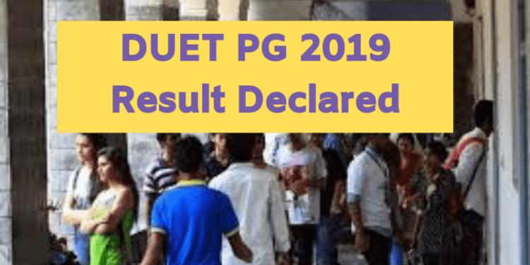 DUET-PG-2019-Result-Declared-Aglasem