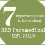 RRB Paramedical CBT 2019