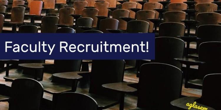 DU Professor Recruitment 2019