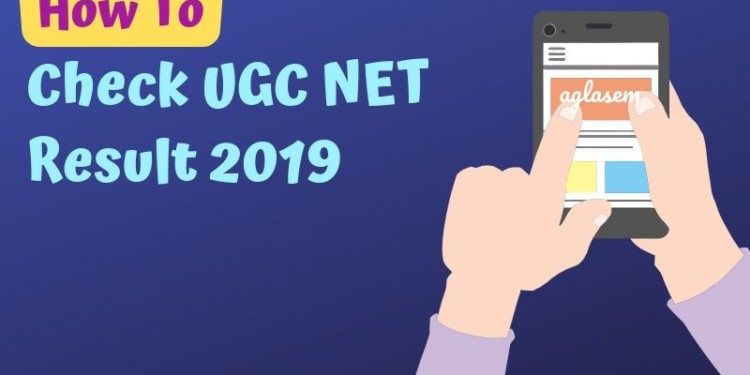 how to check ugc net result