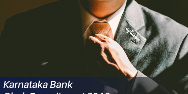 karnataka bank clerk recruitment