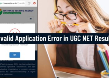 nta.ac.in ntanet.nic.in UGC NET Result July 2019 Invalid Application Error