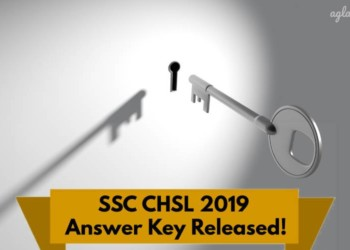 SSC CHSL Answer Key 2019 Released
