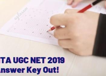 ugc net key
