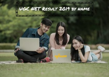 ugc net result name