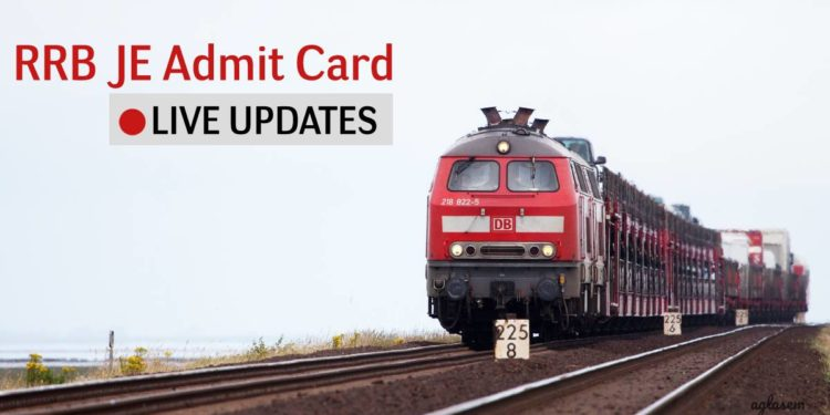 RRB JE CBT 2 Admit Card
