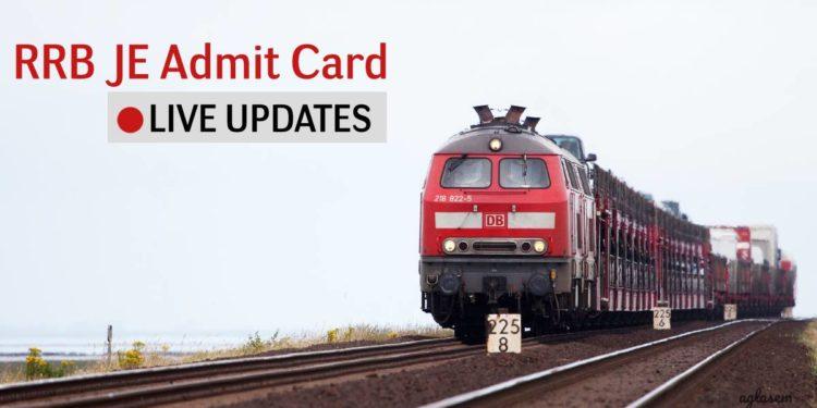 RRB JE CBT 2 Admit Card