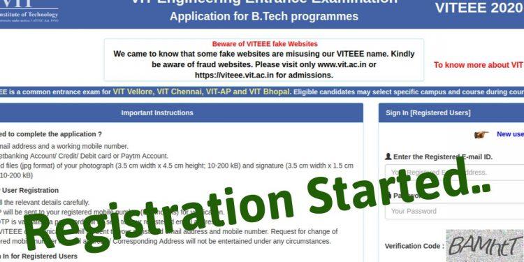 VITEEE-2020-Registration-Started-Aglasem