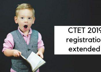 CTET registration last date extended