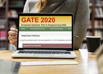 GATE 2020: Registration form fee