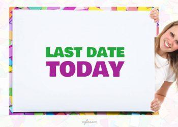 CTET 2019 Last Date To Apply Online Today