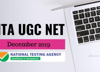 NTA UGC NET December 2019