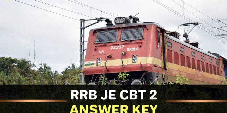 Railway RRB JE CBT 2 Answer Key