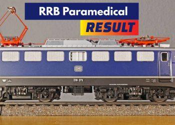 RRB Paramedical Result 2019