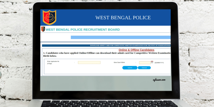 West Bengal Police Warder Admit Card 2019