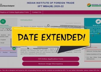 Last Date to Apply for IIFT 2020