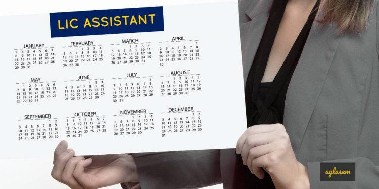 LIC Assistant 2019 exam date