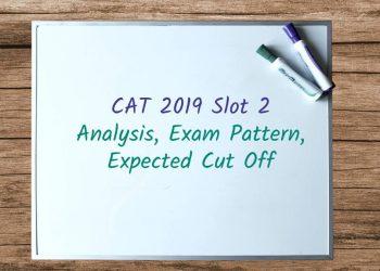 CAT 2019 Slot 2 Analysis