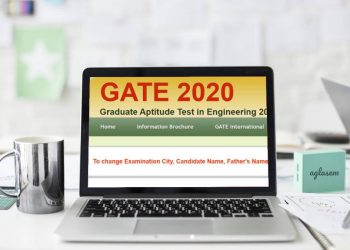 GATE 2020 application form correction
