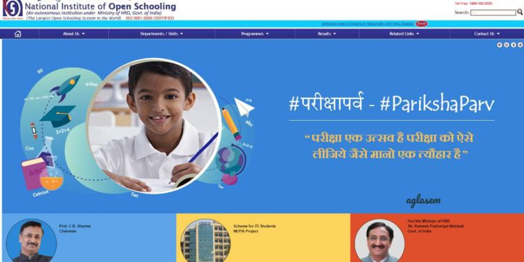 NIOS Result October 2019