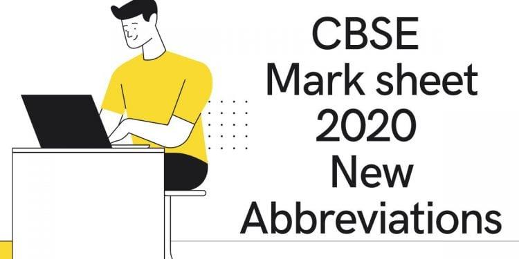 CBSE-Mark-sheet-2020-New-Abbreviations-Aglasem