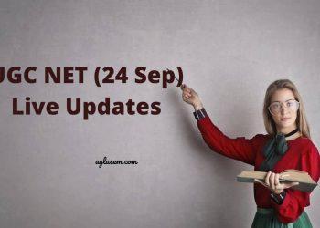 UGC NET 2020 Live Updates