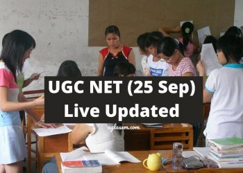 UGC NET 2020 Live Update