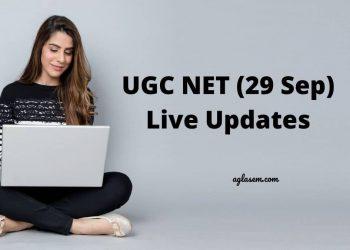 UGC NET 2020 29 Sep