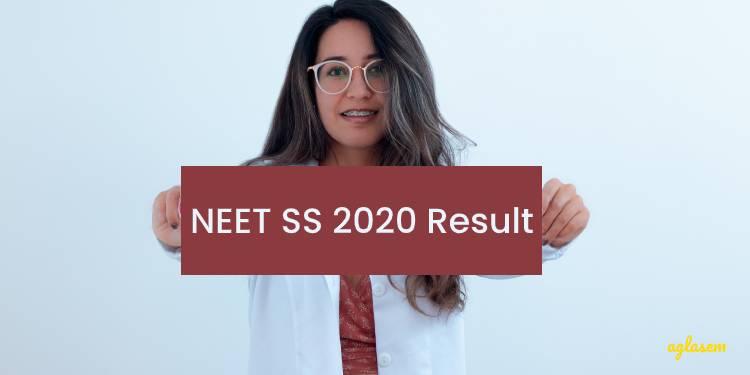 NEET SS 2020 Result