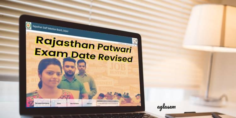 Rajasthan Patwari Exam Date 2020-2021