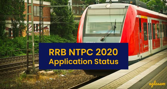 RRB NTPC Application Status 2020